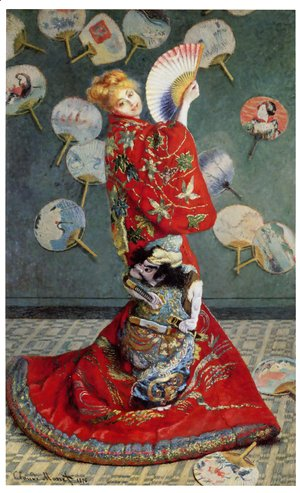 Claude Oscar Monet - La Japonaise (or Camille Monet in Japanese Costume)