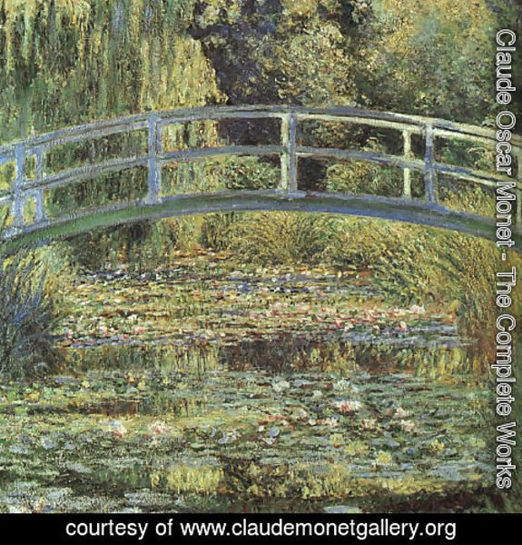 Claude Oscar Monet - The Waterlily Pond