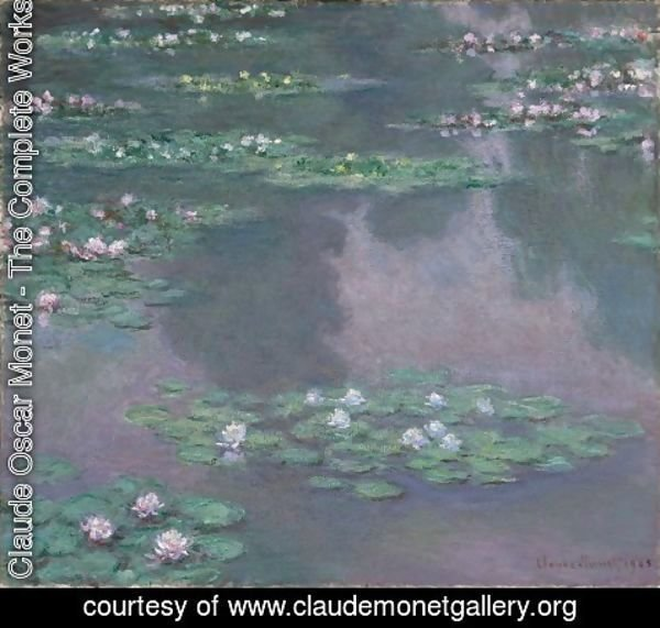 Claude Oscar Monet - Water Lillies I