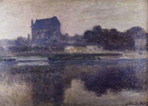 Claude Oscar Monet - The Church Of Vernon In The Mist