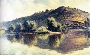 Claude Oscar Monet - The Seine At Port-Villez 2