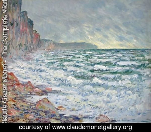 Claude Oscar Monet - The Sea At Fecamp 2