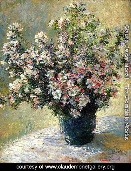 Claude Oscar Monet - Vase Of Flowers