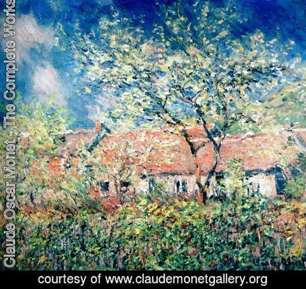 Claude Oscar Monet - Springtime At Giverny