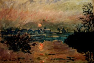 Claude Oscar Monet - Sunset
