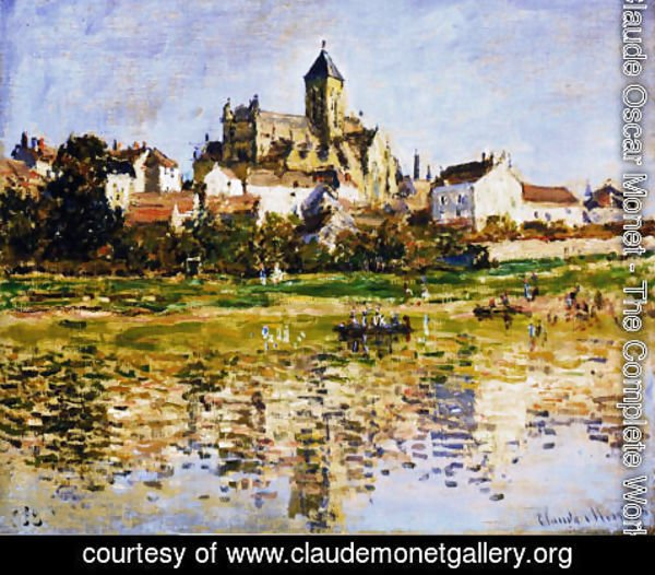 Claude Oscar Monet - The Church At Vetheuil 2