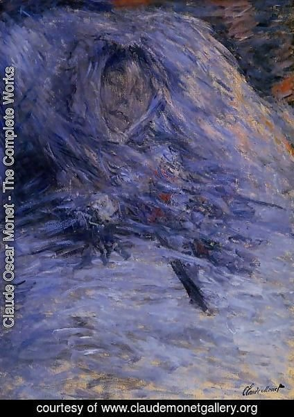 Claude Oscar Monet - Camille Monet On Her Deathbed