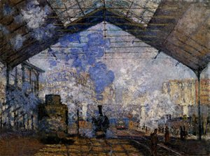Claude Oscar Monet - The Gare Saint-Lazare