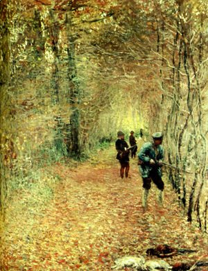Claude Oscar Monet - The Shoot