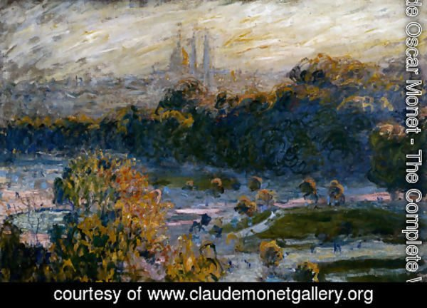 Claude Oscar Monet - The Tuileries
