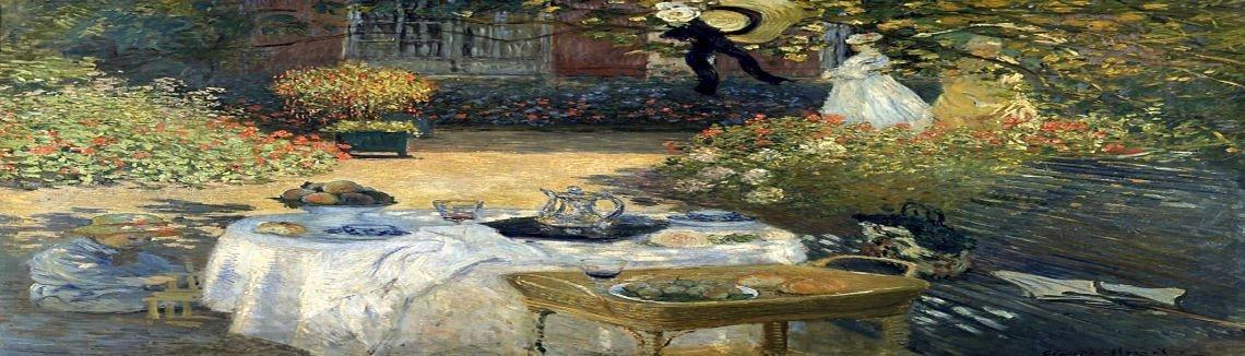 Claude Oscar Monet   The Luncheon (Monetu0027s Garden At Argenteuil)