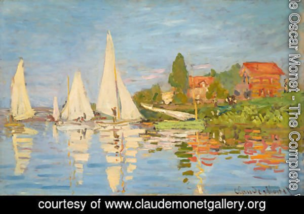 Claude Oscar Monet - Regatta At Argenteuil