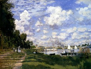 Claude Oscar Monet - The Marina At Argenteuil