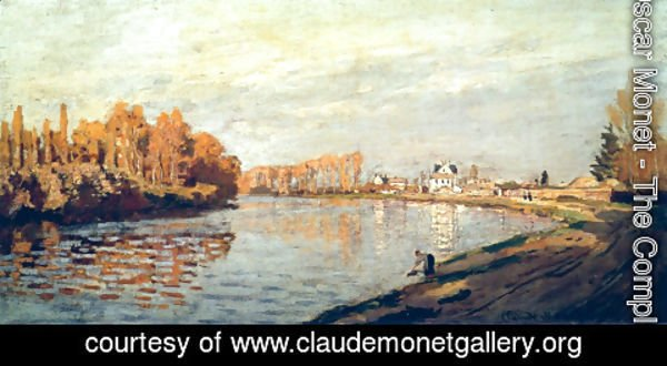 Claude Oscar Monet - The Seine At Argenteuil 3