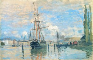 Claude Oscar Monet - The Seine At Rouen