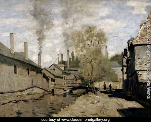 The Stream Of Robec, Rouen