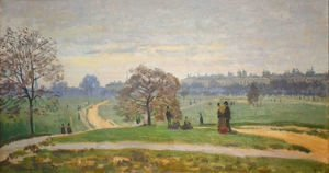 Claude Oscar Monet - Hyde Park, London