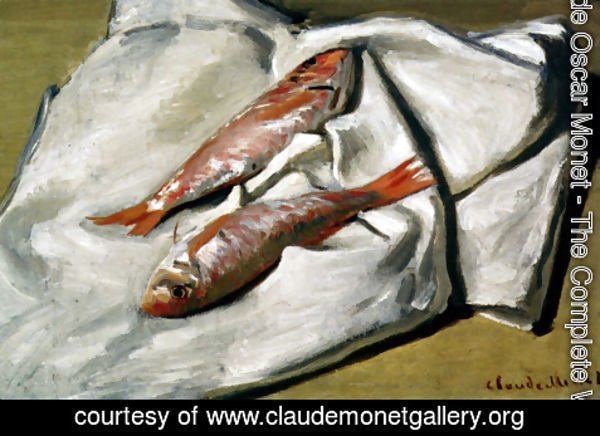 Claude Oscar Monet - Red Mullet