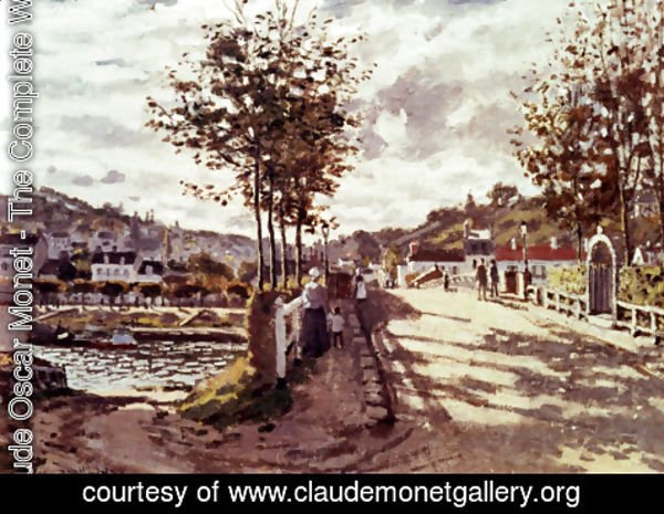 Claude Oscar Monet - The Seine At Bougival 2