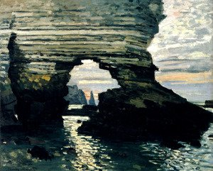 Claude Oscar Monet - La Porte D'Amount, Etretat