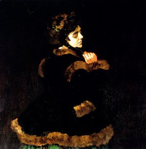 Woman In A Green Dress (detail)