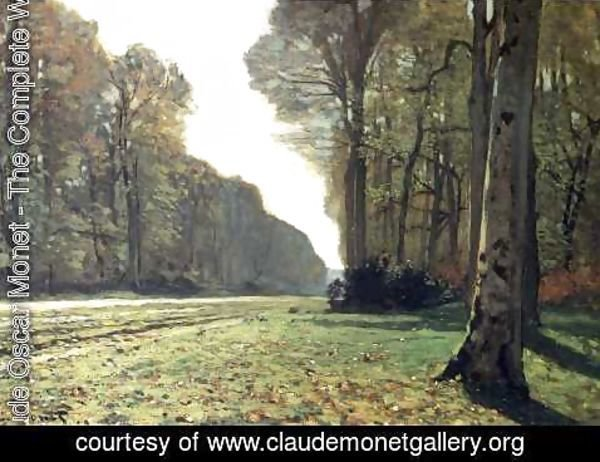 Claude Oscar Monet - The Road To Chailly