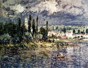 Claude Oscar Monet - Landscape With Thunderstorm
