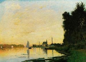 Claude Oscar Monet - Argenteuil, Late Afternoon