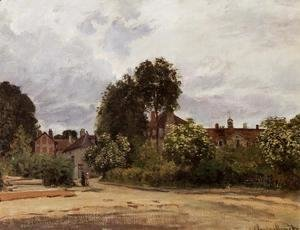 Claude Oscar Monet - Argenteuil, the Hospice