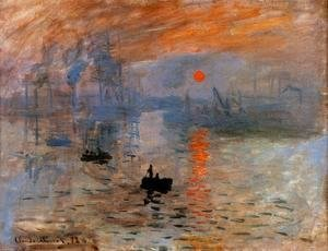 Claude Oscar Monet - Impression, Sunrise 2