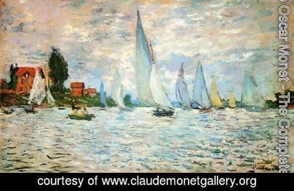 Claude Oscar Monet - Regatta at Argenteuil I