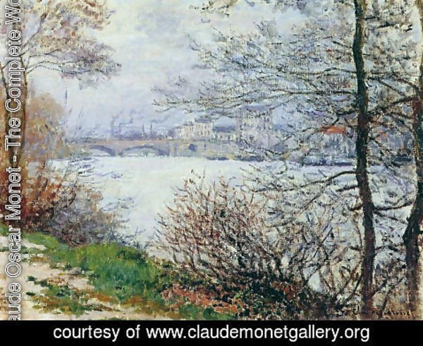 Claude Oscar Monet - The Banks of the Seine, Ile de la Grande-Jatte
