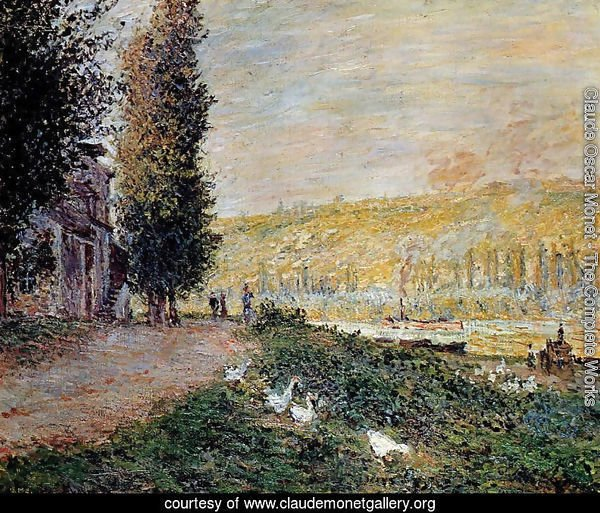 The Banks of the Seine, Lavacour