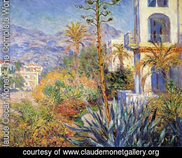 Claude Oscar Monet - Villas in Bordighera