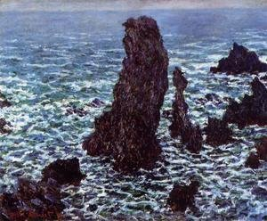 Claude Oscar Monet - The 'Pyramids' of Port Coton, Belle-Ile-en-Mer