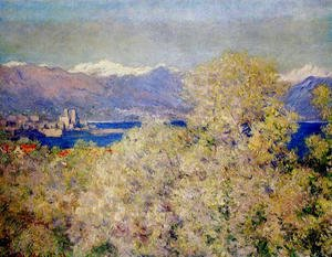 Claude Oscar Monet - Antibes - View of the Salis Gardens 2