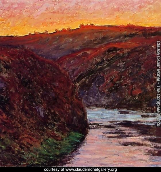 Valley of the Creuse, Sunset I