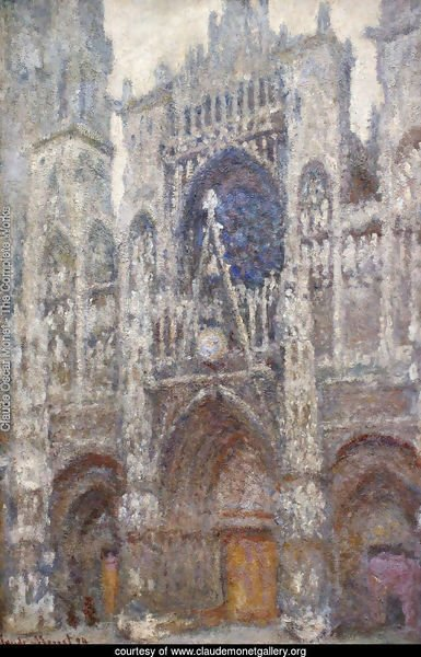 Rouen Cathedral, the Portal, Grey Weather