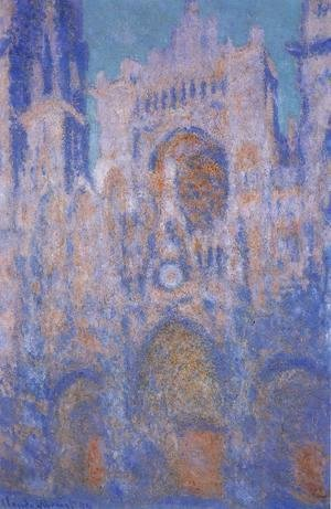 Claude Oscar Monet - Rouen Cathedral, Symphony in Grey and Rose