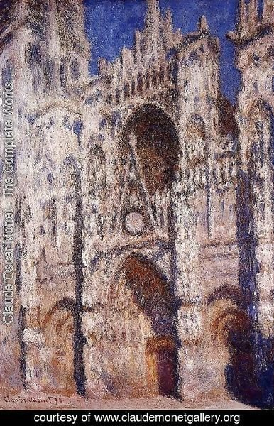 Claude Oscar Monet - Rouen Cathedral I