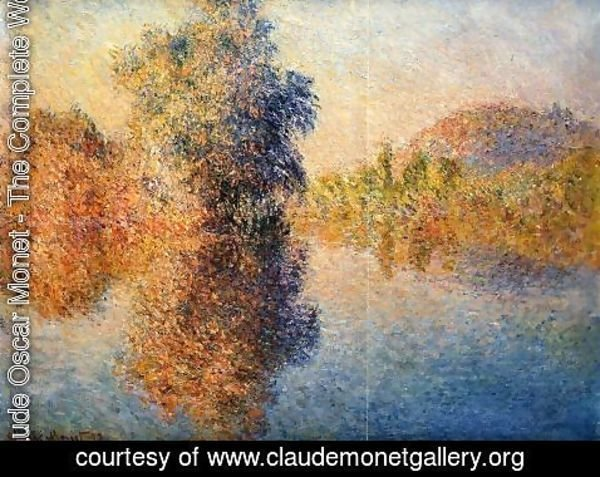 Claude Oscar Monet - Morning on the Seine 3