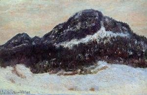 Claude Oscar Monet - Mount Kolsaas I