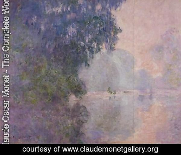 Claude Oscar Monet - Morning on the Seine II