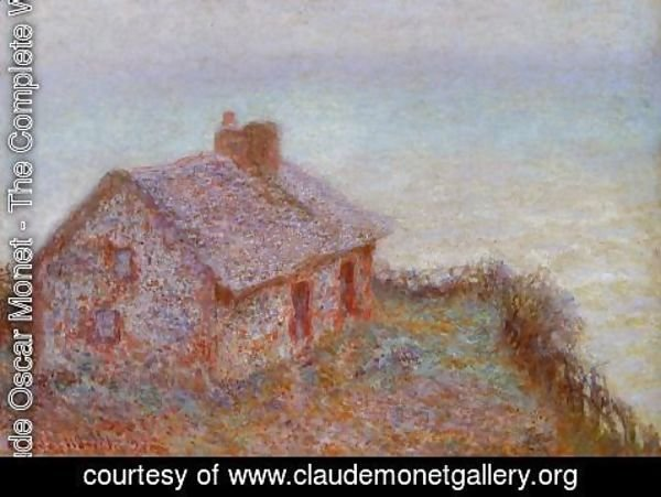 Claude Oscar Monet - Customs House at Varengeville