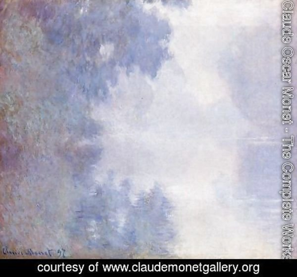 Claude Oscar Monet - Morning on the Seine, Mist