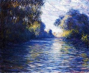 Claude Oscar Monet - Morning on the Seine IV