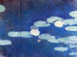 Claude Oscar Monet - Water-Lilies I
