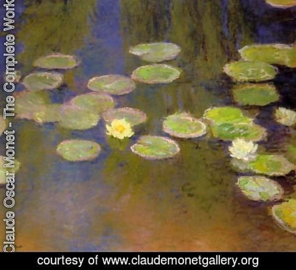 Claude Oscar Monet - Water-Lilies II