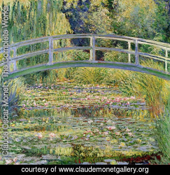 Claude Oscar Monet - Water-Lily Pond I