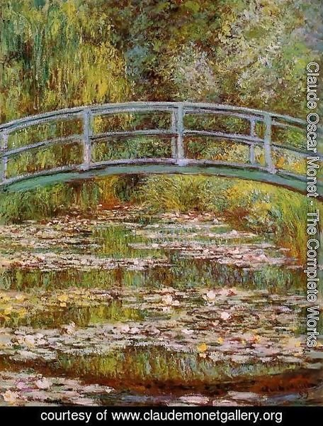 Claude Oscar Monet - The Water-Lily Pond 2